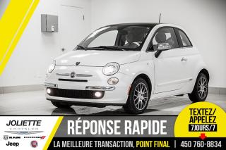 Used 2013 Fiat 500 Lounge, CUIR, BLUETOOTH, AIR CLIMATISÉ!! for sale in Joliette, QC