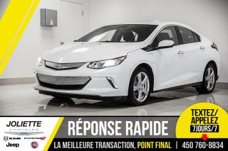 Used 2017 Chevrolet Volt LT, BLUETOOTH, CAMÉRA DE RECUL, DÉMARREUR À DISTAN for sale in Joliette, QC