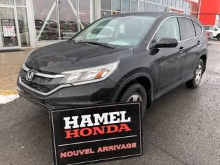 Used 2016 Honda CR-V LX SEULEMENT 46040KM for sale in St-Eustache, QC