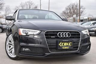 Used 2016 Audi A5 NO ACCIDENTS - Technik - CABRIOLET - LOADED! for sale in Oakville, ON