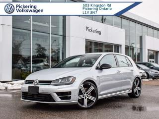 Used 2016 Volkswagen Golf R R!! AWD!! TURBO LEATHER + NAV for sale in Pickering, ON