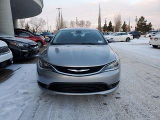 Used 2015 Chrysler 200 LX; PUSH BUTTON START, CRUISE CONTROL, A/C AND MORE for sale in Edmonton, AB