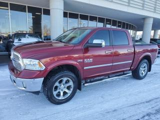Used 2014 RAM 1500 LARAMIE; CREW CAB, NAV, BACKUP CAM, 4X4 AND MORE for sale in Edmonton, AB