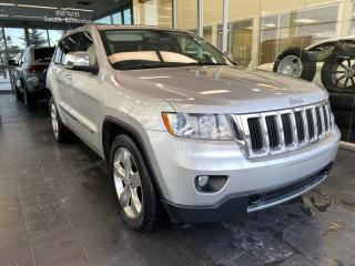 Used 2011 Jeep Grand Cherokee LIMITED 4WD, ACCIDENT FREE, PANORAMA ROOF, POWER HEATED/VENTED LEATHER SEATS, HEATED STEERING WHEEL for sale in Edmonton, AB