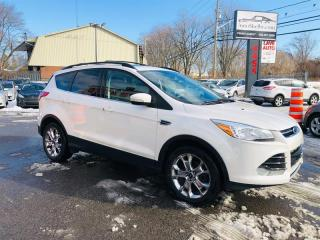 Used 2013 Ford Escape SEL-4WD-Air-Toit-Cuir-Mag-Camera-Sièges Chauffants for sale in Laval, QC