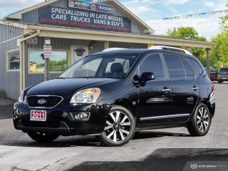 Used 2011 Kia Rondo EX,7 PASS,LOW KMS,PWR S/ROOF,B.TOOTH,LEATHER INT for sale in Orillia, ON