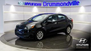 Used 2014 Kia Rio LX PLUS + A/C + SIEGES CHAUFFANTS !! for sale in Drummondville, QC