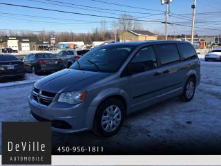 Used 2015 Dodge Grand Caravan Ensemble Valeur Plus for sale in Granby, QC