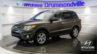 Used 2012 Hyundai Santa Fe LIMITED AWD + TOIT PANO + INFINITY + MA for sale in Drummondville, QC