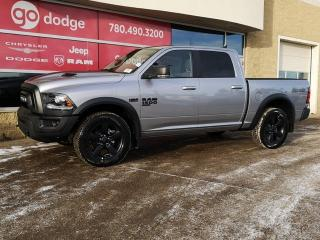 New 2019 RAM 1500 Classic Warlock 4x4 Crew Cab / Back Up Camera / Heated Seats & Steering Wheel for sale in Edmonton, AB