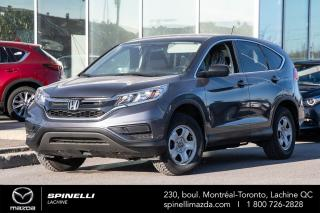 Used 2016 Honda CR-V LX AWD SIEGES CHAUFFANTS BLUETOOTH CAMERA DE RECUL HONDA CR-V LX AWD 2016 for sale in Lachine, QC