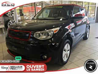 Used 2016 Kia Soul EV Luxe *2 TONS *CUIR *SIEGES CHAUFFANTS for sale in Québec, QC