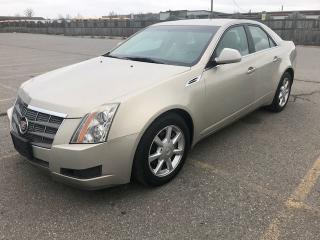 Used 2009 Cadillac CTS w/1SA for sale in Mississauga, ON