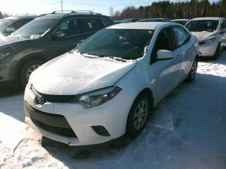Used 2015 Toyota Corolla A/C for sale in St-Constant, QC