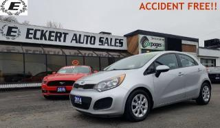 Used 2014 Kia Rio LX+ ECO  ACCIDENT FREE!! for sale in Barrie, ON