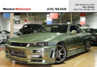 Used 1999 Nissan Skyline R34 GT-T - GTR NISMO KIT|BLITZ|HKS|RECARO for sale in North York, ON
