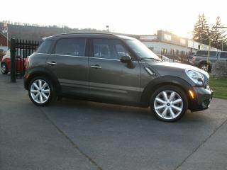 Used 2012 MINI Cooper Countryman S ALL4 for sale in Stoney Creek, ON