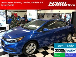 Used 2017 Chevrolet Cruze LT+Apple Play+Sunroof+Blind Spot+Rear Sensors+BOSE for sale in London, ON