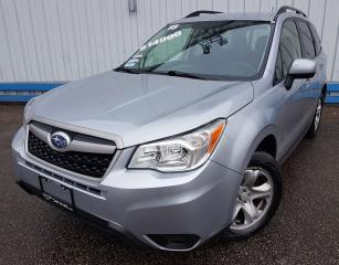 Used 2015 Subaru Forester 2.5i AWD *HEATED SEATS* for sale in Kitchener, ON