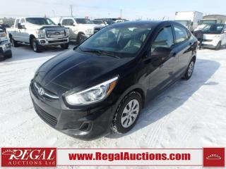2017 Hyundai Accent GL 4D Sedan AT 1.6L