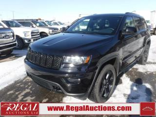 2018 Jeep GRAND CHEROKEE ALTITUDE IV 4D UTILITY 4WD 3.6L