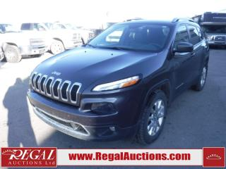 2016 Jeep Cherokee Limited 4D Utility 4WD 3.2L