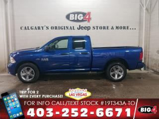 Used 2017 RAM 1500 ST   4x4   Touchscreen   Cloth for sale in Calgary, AB