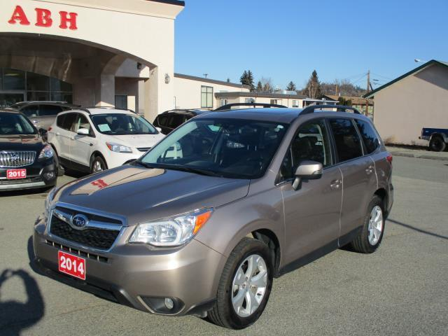 2014 Subaru Forester 2.5L LIMITED AWD