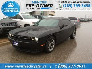 Used 2015 Dodge Challenger RT Hemi, Navi, Leather, Cam for sale in Whitby, ON