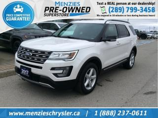 Used 2017 Ford Explorer XLT 4x4, Leather, Navi, Cam, One Owner for sale in Whitby, ON