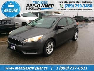 Used 2015 Ford Focus SE, Bluetooth, Cam, Sirius, Alloys for sale in Whitby, ON