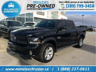 Used 2014 RAM 1500 Sport Hemi 4x4, Cam, Sunroof, One Owner for sale in Whitby, ON