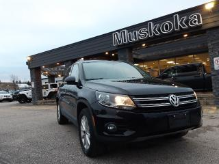 Used 2015 Volkswagen Tiguan COMFORTLINE for sale in Bracebridge, ON