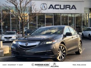 Used 2015 Acura TLX 2.4L P-AWS w/Tech Pkg for sale in Markham, ON