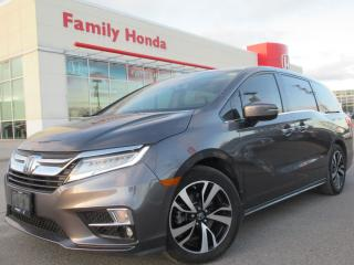Used 2018 Honda Odyssey Touring | NAVI | HEATED SEATS | for sale in Brampton, ON