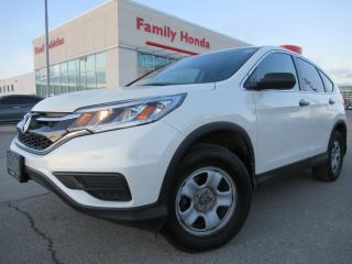 Used 2015 Honda CR-V AWD 5dr LX | ECO MODE | HEATED SEATS | BACK UP CAM for sale in Brampton, ON