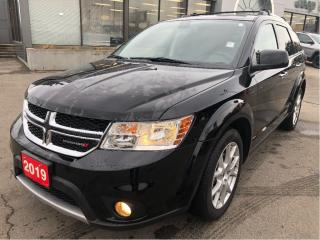 Used 2019 Dodge Journey GT AWD w/Leather, Navi, DVD, Sunroof, 7-Pass Seati for sale in Hamilton, ON
