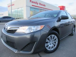 Used 2014 Toyota Camry 4dr Sdn I4 Auto LE |  REVERSE CAM | BLUETOOTH | for sale in Brampton, ON
