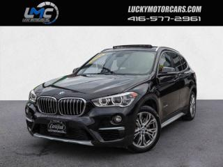 Used 2016 BMW X1 XDRIVE28I -PANOROOF-BACKUP CAM-LEDS-40KMS for sale in Toronto, ON