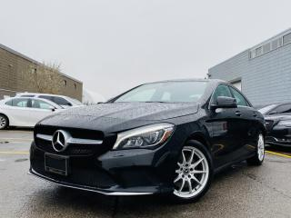 Used 2018 Mercedes-Benz CLA250  NAVIGATION REAR VIEW CAMERA SUN ROOF MEMORY SEATS LEATHER! for sale in Brampton, ON