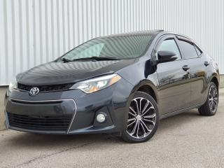 Used 2014 Toyota Corolla S Leather|Sunroof|FINANCING AVAILABLE for sale in Mississauga, ON