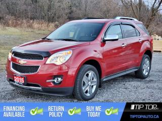 Used 2015 Chevrolet Equinox LTZ  ** Leather, AWD, 3.6L V6, Collision Alert ** for sale in Bowmanville, ON