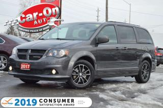 Used 2017 Dodge Grand Caravan GT LEATHER NAV DVD REAR CAM HTD SEATS LOADED for sale in Ottawa, ON