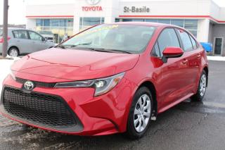 Used 2020 Toyota Corolla LE BLUETOOTH SIEGES CHAUFFANTS CAMERA RECUL for sale in St-Basile-le-Grand, QC