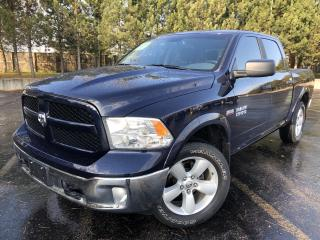 Used 2017 RAM 1500 SLT OUTDOORSMAN CREW 4X4 for sale in Cayuga, ON