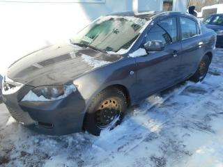 Used 2008 Mazda MAZDA3 2008 Berline 4 portes, boîte manuelle, G for sale in Sorel-Tracy, QC