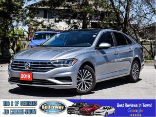 Used 2019 Volkswagen Jetta Leather |Sunroof | Back up Cam| $94 Weekly (oac) for sale in Stoney Creek, ON