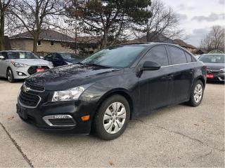 Used 2015 Chevrolet Cruze 1LT for sale in Stoney Creek, ON