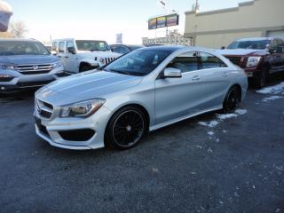 Used 2015 Mercedes-Benz CLA250 CLA 250 AMG 4MATIC Cuir Toit Ouvrant Nav for sale in Laval, QC