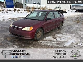 Used 2003 Honda Civic 4dr Sdn DX Auto for sale in Rivière-Du-Loup, QC